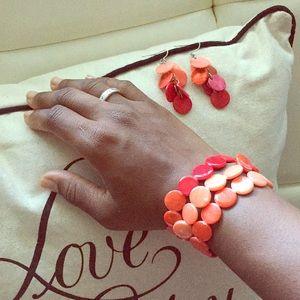 Jewelry - Tropical shell jewelry set